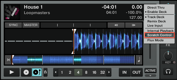 The Timecode Mode Buttons Do Not Appear on my Decks in