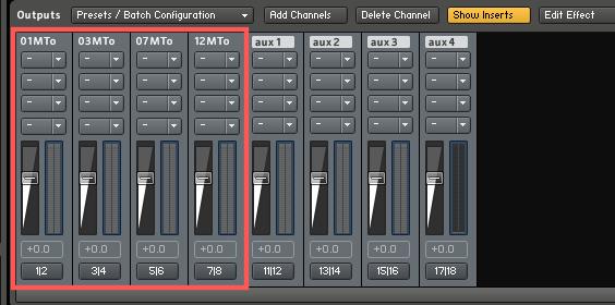 Logic Pro XでKONTAKT 5をマルチ...