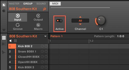 MIDI Active
